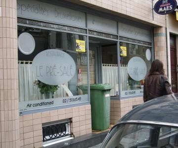 Le pr sal - Restaurant cuisine belge bruxelles ...