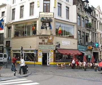 Gauffre de bruxelles - Restaurant cuisine belge bruxelles ...